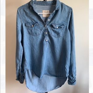 Abercrombie & Fitch denim top